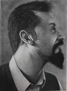 Shanky Studio Graphite and Charcoal Hyper Realistic Portrait