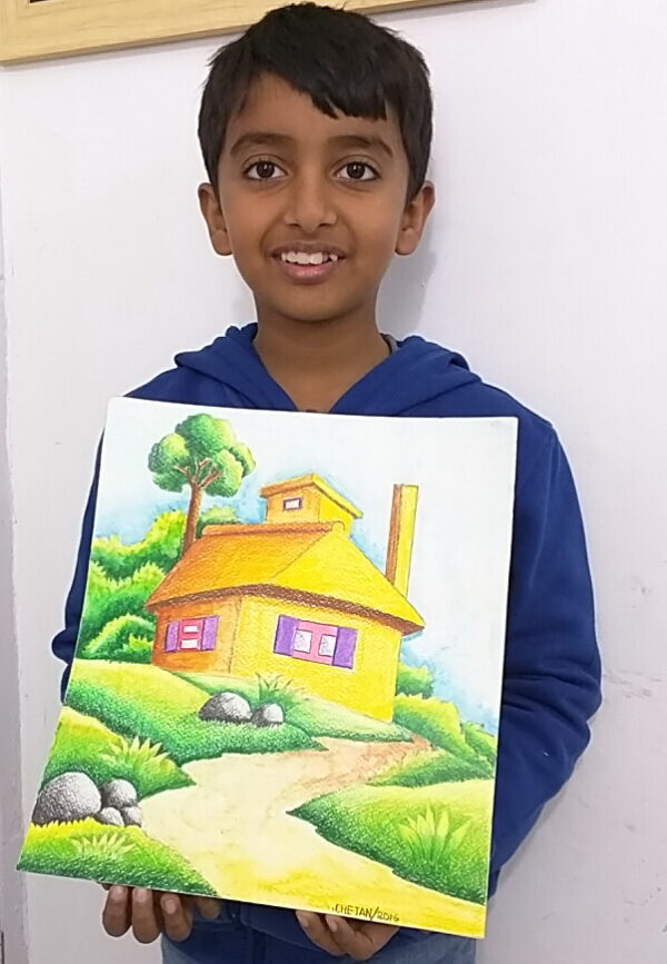 Colored Pencil Painting Shanky Studio
