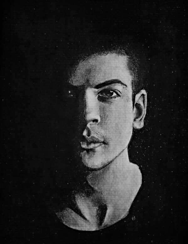 Graphite Charcoal Portrait Free Art Class Shanky Studio