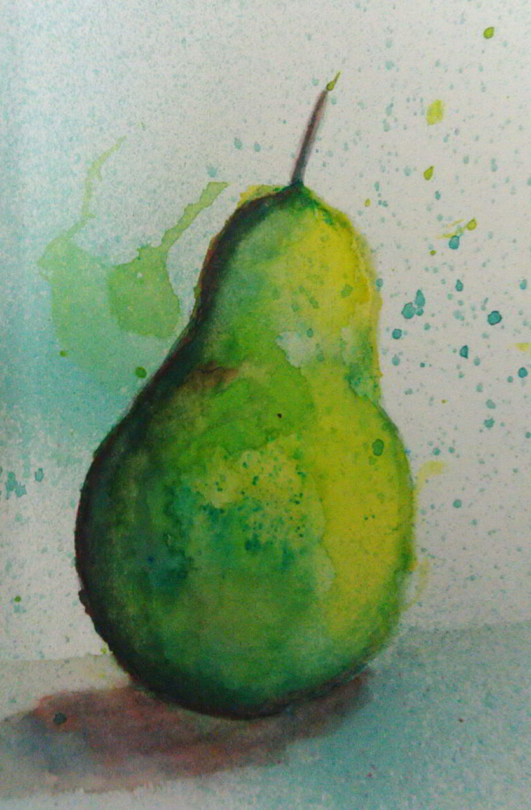 shanky Studio Surinder Shanker Anand Watercolor Painting From Still Life